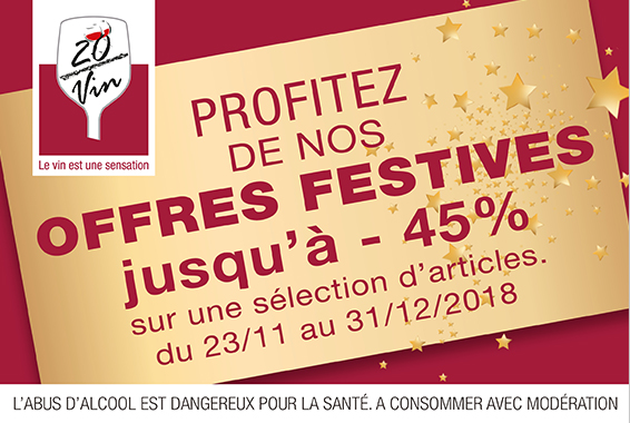 Centre Commercial Le Portail - offre enseigne - boutique 20 / vin Réunion
