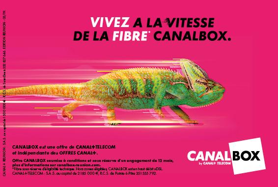Centre Commercial Le Portail - offre enseigne - boutique Canal + Réunion