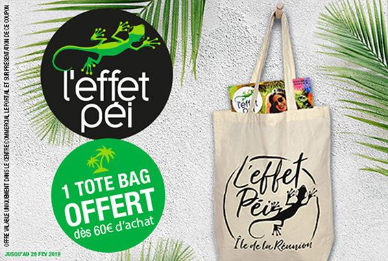 Centre Commercial Le Portail - offre enseigne - boutique L'effet Pei Réunion