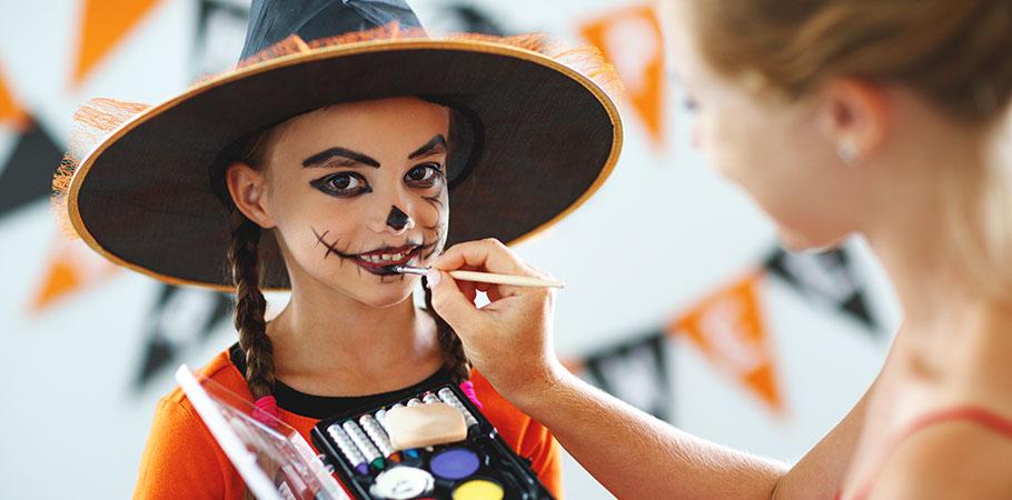 Atelier maquillage et bonbons <br/>le Jeudi 31 octobre