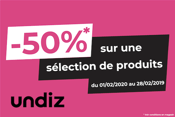 Centre Commercial Le Portail - offre enseigne - boutique Undiz Réunion