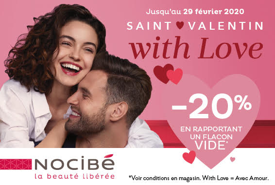 Centre Commercial Le Portail - offre enseigne - boutique Nocibé Réunion