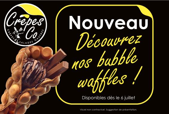 Centre Commercial Le Portail - offre enseigne - boutique Crêpes & Co Réunion