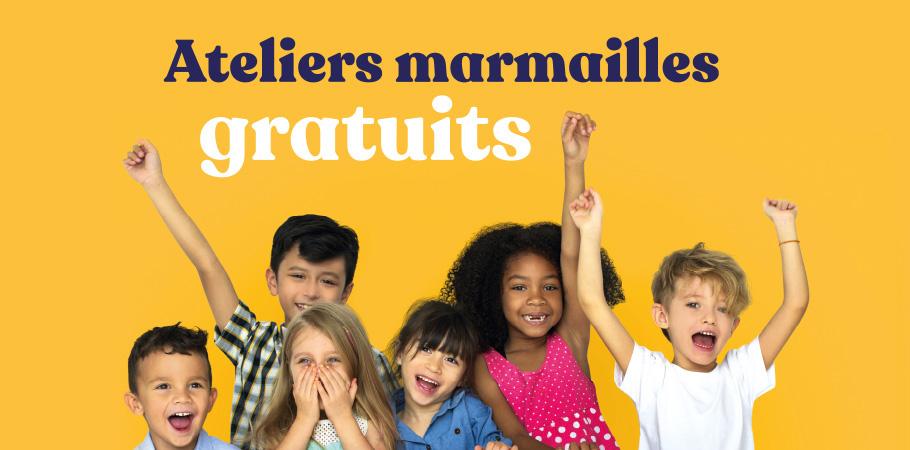 Atelier Marmailles </br> Mercredi 12 août