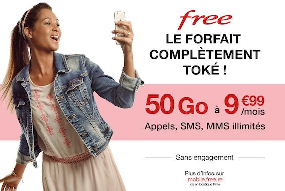 Centre Commercial Le Portail - offre enseigne - boutique Free Réunion