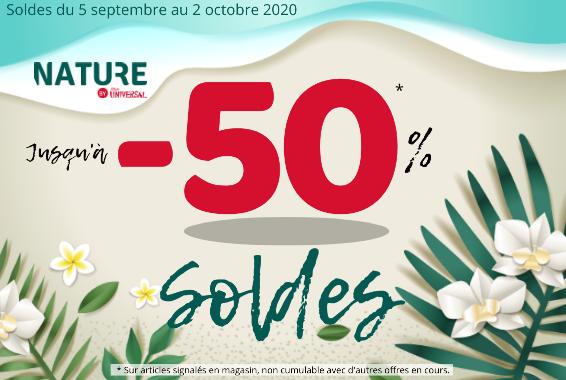 Centre Commercial Le Portail - offre enseigne - boutique Nature Réunion